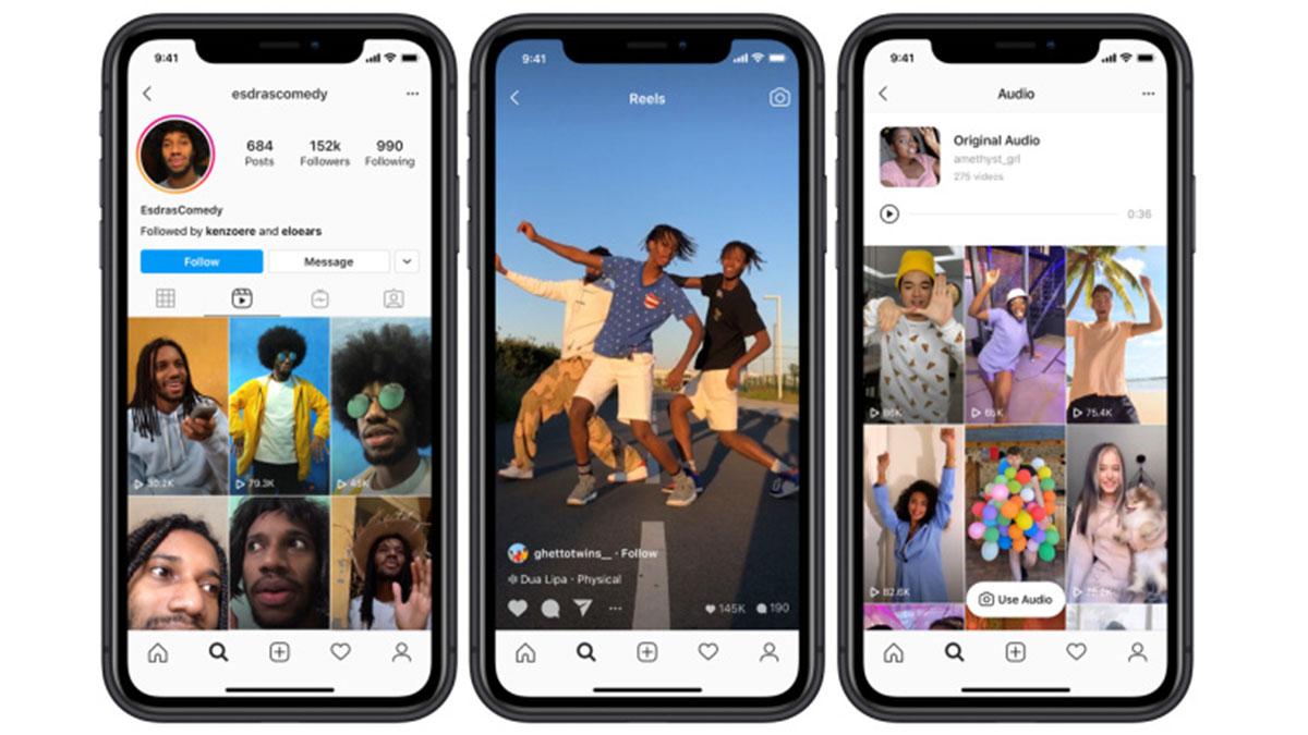 Instagram reels, de nieuwe tegenhanger van TikTok