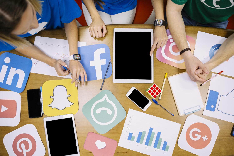 social media platformen