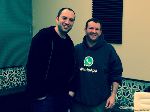 whatsapp oprichters