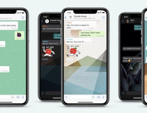 WhatsApp krijgt instelbare achtergronden per chat