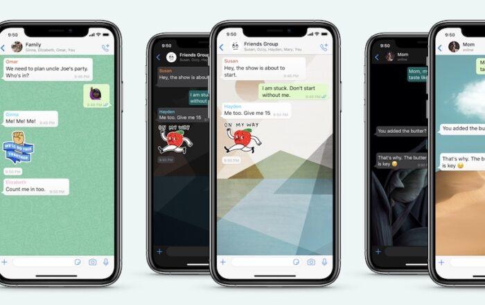 whatsapp instelbare achtergronden