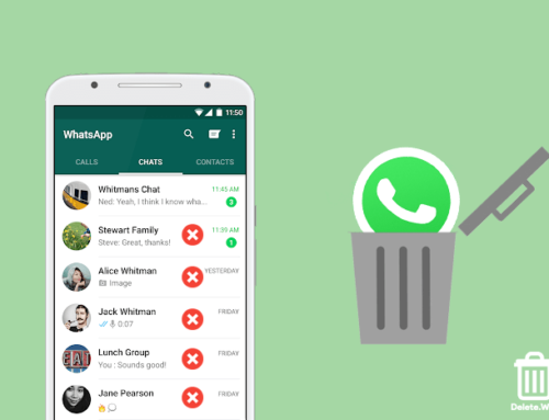 Whatsapp verwijderen