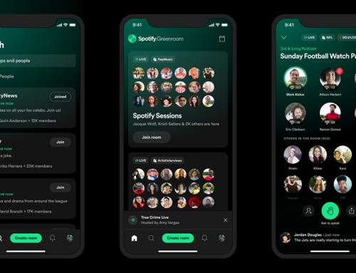 Spotify brengt eigen Clubhouse alternatief uit: Greenroom